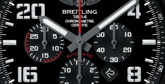 Breitling-Super-Avenger-Military-Chronograph-Dial-Closeup