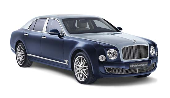 Bentley Introduces Limited Edition Birkin Mulsanne