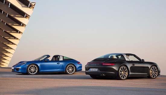 Porsche911Targa4and 911Targa4S