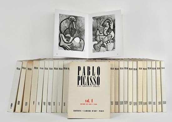 Zervos Picasso Catalogue Returns To Print