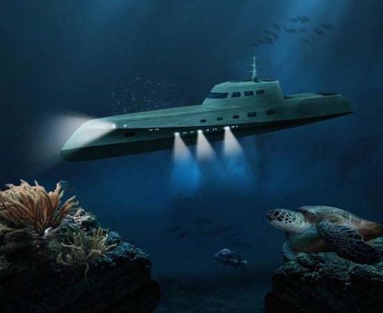 Luxury Submarine Underwater Getaway by Oliver's Travels