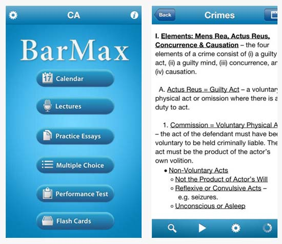 BarMax CA, created by Harvard Law School alumni, is a leading comprehensive California bar exam review course with the highest overall pass rates