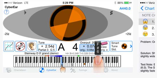 Reyburn CyberTuner, the pro piano technician's gold standard tuning software tool for over 17 years.This is a professional piano technicians' tuning tool and is priced accordingly.