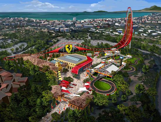 Ferrari Land theme park to open in Spain in 2016