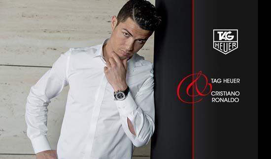 Christiano Ronaldo Named New TAG Heuer Brand Ambassador