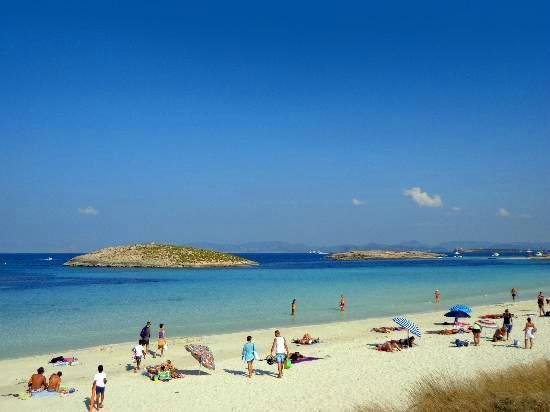 6. Playa de ses Illetes, Formentera, Spain