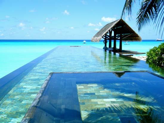 Paradise Pool, The Maldives