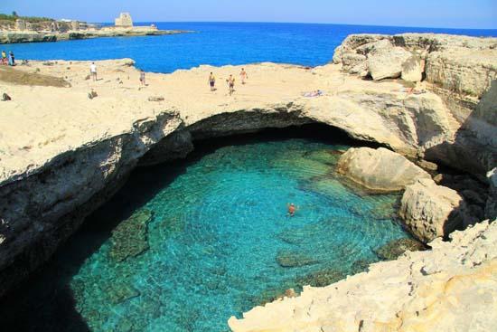 Grotta della Poesia - Roca Vecchia, Italy