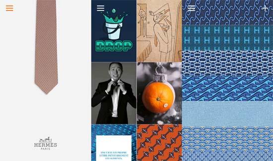 Hermès Launches Tie Break App for Men