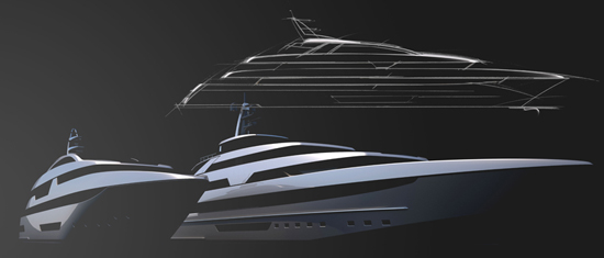 Riva Introduces Steel Superyacht Line