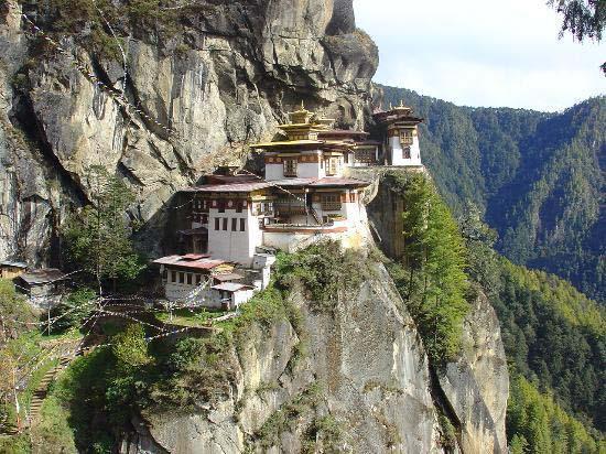 8.Taktsang Monastery (Tiger's Nest) / Paro, Bhutan
