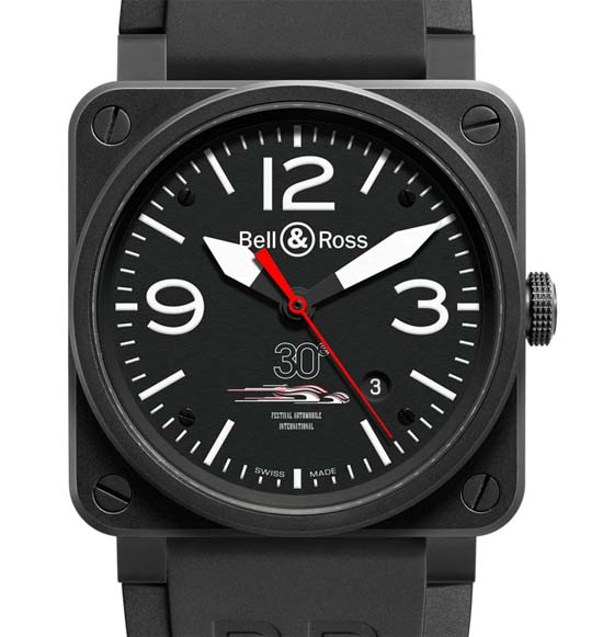 Bell & Ross BR 03 Festival Automobile International Ref. BR03-92-FA-CA
