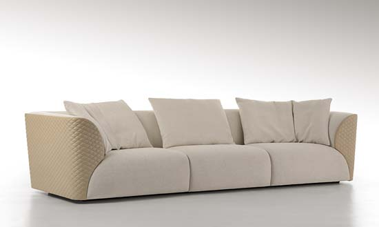 WINSTON sofa starting from €13,600 (Approx. $15,336 USD)
