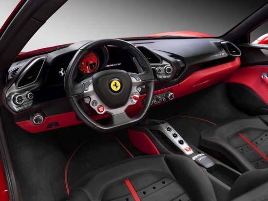Ferrari-488-GTB-interior