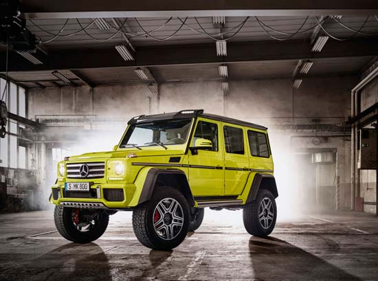 Mercedes-Benz G500 4x4² concept 3