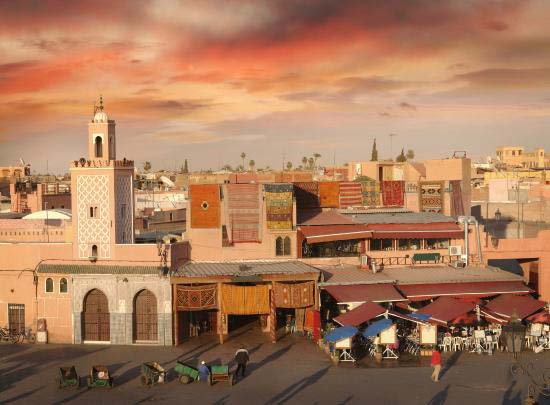 1.Marrakech, Morocco
