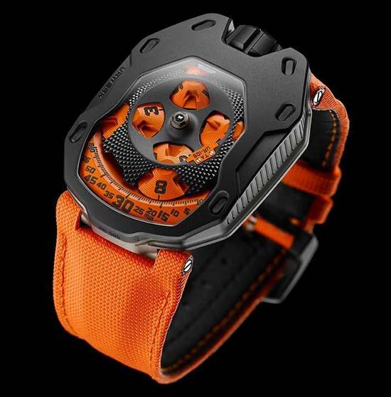 Urwerk UR-105TA Black Orange