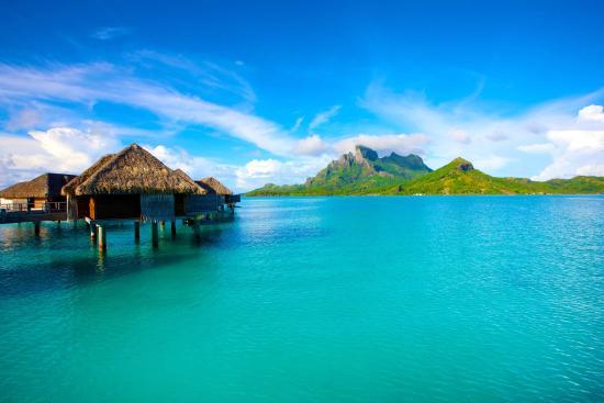 9. Bora Bora, Society Islands