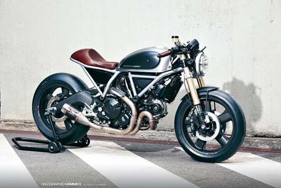 Ducati Scrambler Hero 01 by Holographic Hammer