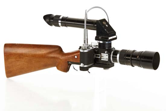 Leica Camera Rifle side