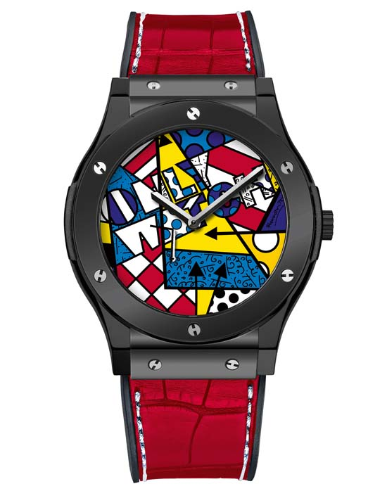 Hublot Classic Fusion Only Watch Britto  - Ref. 515.CS.0910.LR.OWM15 – One-off piece