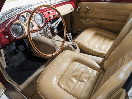 1952-Jaguar-XK120-Supersonic-by-Ghia-interior