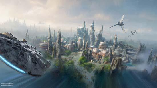 Disney Announces Massive Star Wars-Themed Parks