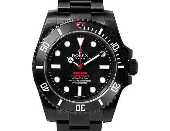Submariner Titanium-Coated Watch $17,600