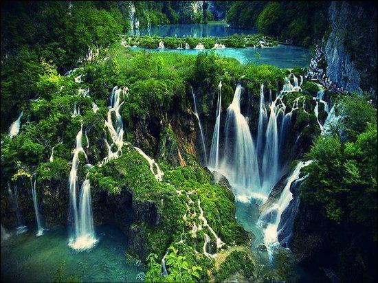 5. Plitvice Lakes - Plitvice Lakes National Park, Croatia