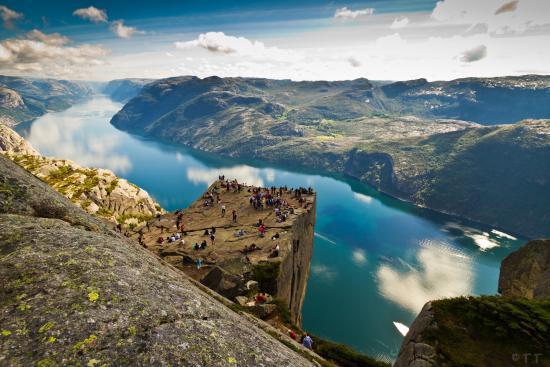 4. Pulpit Rock - Rogaland, Norway