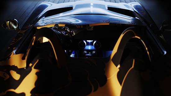 BAPE Mercedes-Benz SLR Stirling Moss In Camo