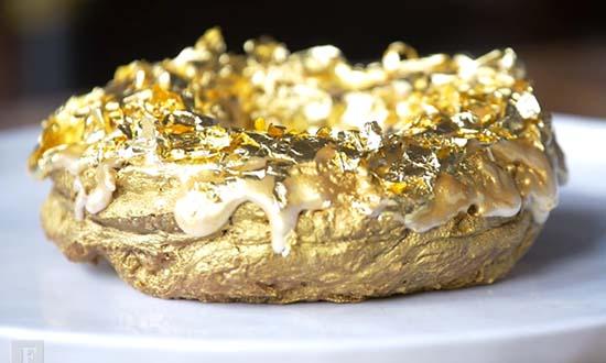 24-Karat Gold Doughnut Cristal Champagne