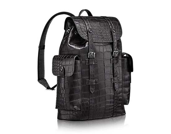 Louis-Vuitton-Christopher-PM-Backpack-Crocodile