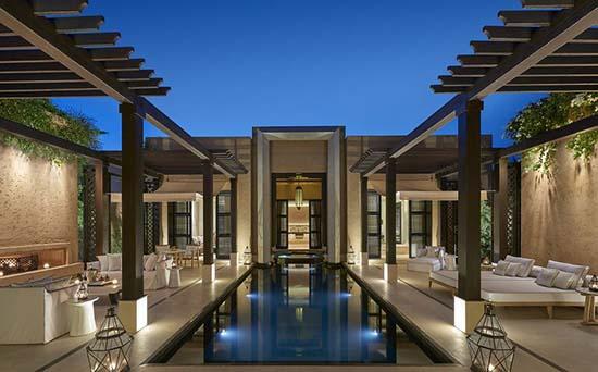 Mandarin-Oriental-Marrakech-pool-terrace