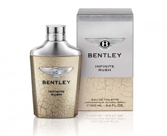 Bentley Launches New Fragrance For Men Infinite Rush