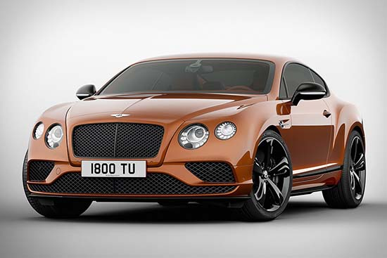 Bentley Continental GT Speed Black Edition 1
