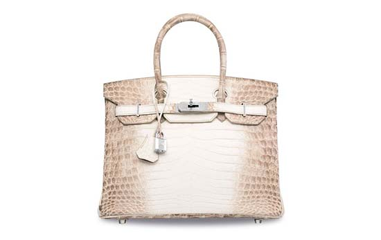 Hermès Himalaya Niloticus Crocodile Diamond Birkin Is The Most Expensive Handbag Ever Auctioned