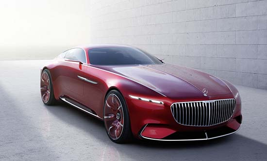 Mercedes-Maybach-Vision-6-front