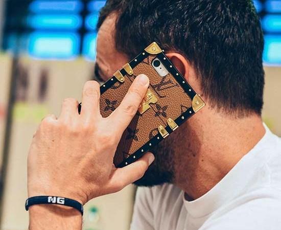 Louis Vuitton Petit Malle Trunk Bag iPhone Case