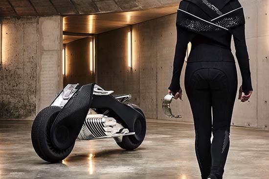 BMW Motorrad Introduces Vision Next 100 Concept