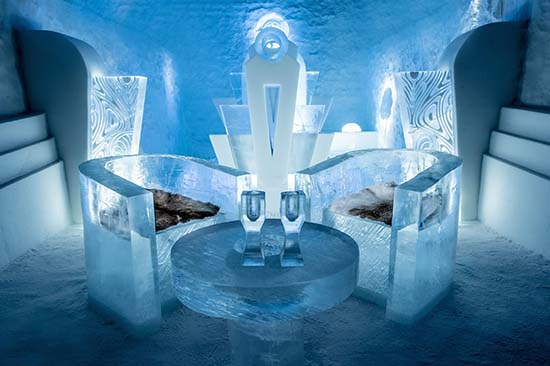 The World's First Permanent Ice Hotel Opens In Sweden