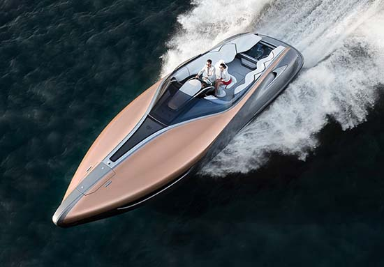 Lexus Sport Yacht Concept Unveiled