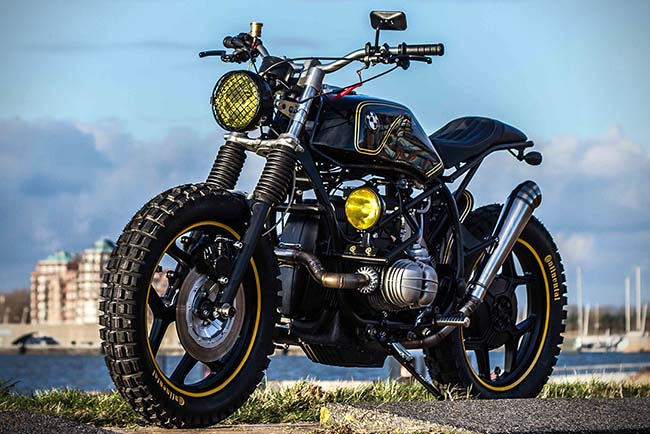 Bmw Garage Amsterdam : Bmw r riot starter by ironwood custom motorcycles luxury cars