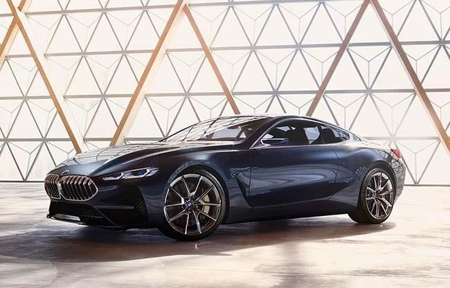BMW 8 Series Concept Is Eager To Impress