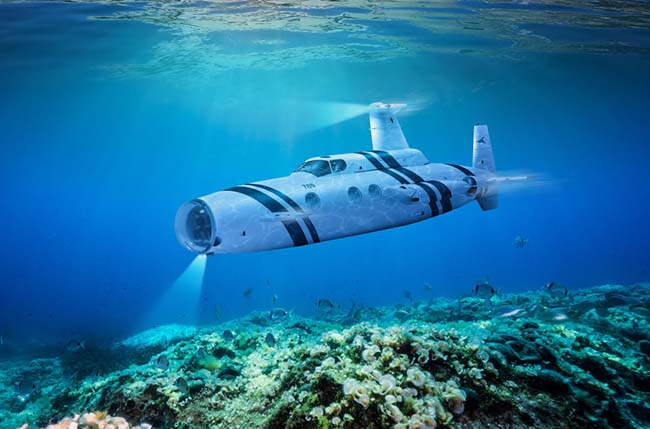 Neyk Submarine Might Be The Ultimate Luxury Toy