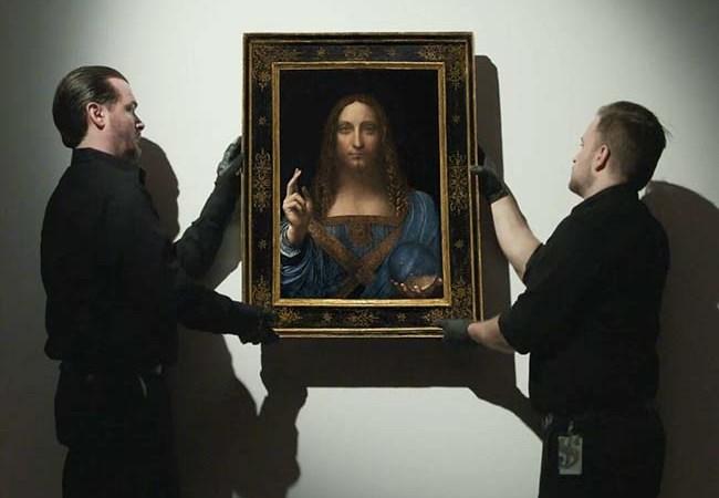 Leonardo da Vinci's Salvator Mundi Sells For Record $450M