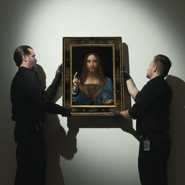 Leonardo Da Vinci's Salvator Mundi Sells For Record