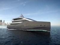 Crystal Blue yacht concept