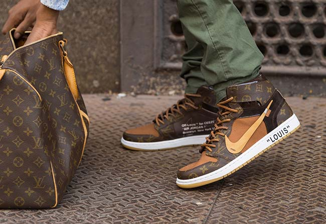 These Louis Vuitton x OFF–WHITE x Nike Air Jordan 1s Will Set You Back $4,000