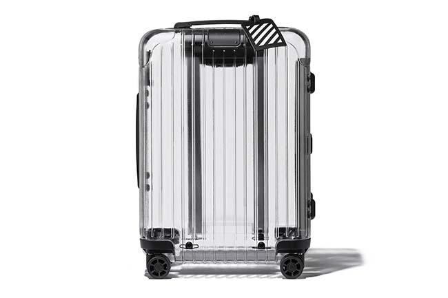 Off-White x Rimowa Unveil Transparent Suitcase